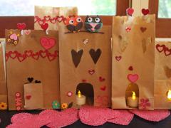 Paper Bag Heart Village