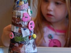 Mod-Podge Magazine Christmas Trees