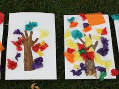 Fall Tree Hand Craft