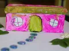 Shoe Box Fairy House
