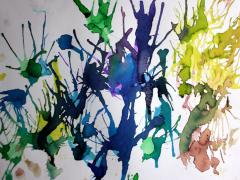 Painting With Straws