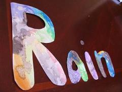 R is for Rain