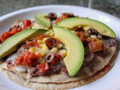 Double Decker Mexican Pizza