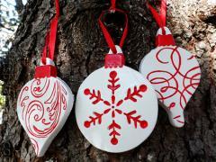 Scandinavian Plaster Ornaments