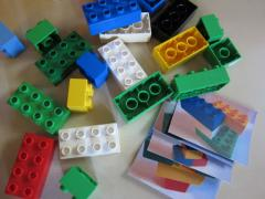 Lego Puzzle Cards
