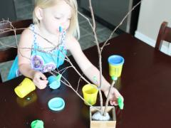Play dough Tree