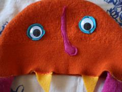 Monster Hat with Ear Flaps