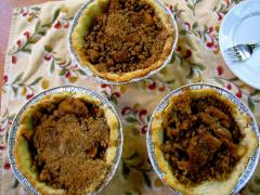 Mini Pumpkin Pies w/ Press-In Crust