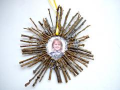 Twig Holiday Ornament