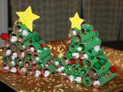 Coin Wrapper Advent Tree