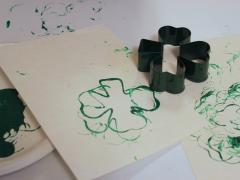 Shamrock Cookie Cutter Stamp