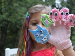 Glove Puppets: Three Little Pigs