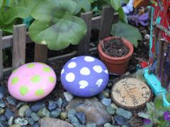 Wooden Knob Toadstool