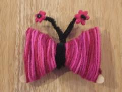 Yarn Butterflies