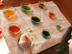 Color Mixing Tic-Tac-Toe