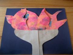 Olympic Flame Painting