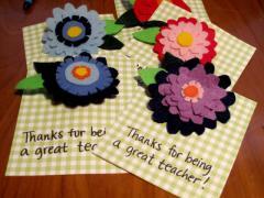 Felt Flowers Gifts!