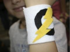 Felt Superhero Cuffs