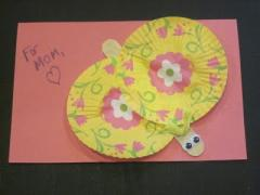 Mother's Day Butterfly Craft + Card
