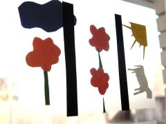 Stained Glass Paper Art