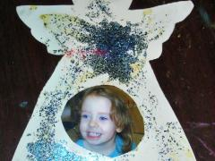 Angel Photo Ornament