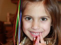 Rainbow Hair Clip
