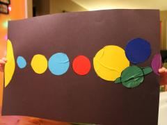 Duct Tape Sheet Solar System