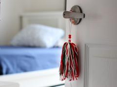 Yarn Door Tassel