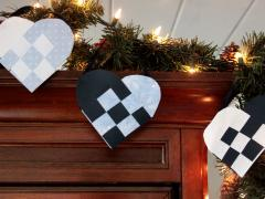 Danish Woven Paper Heart Baskets