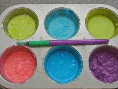 Flour Bath Paints