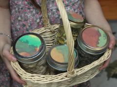 Snack Jar Basket