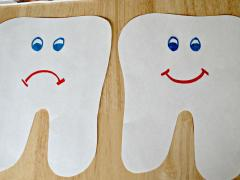 Happy Tooth, Sad Tooth Collage