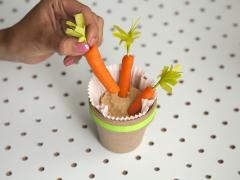 Bunny Food Snack Cups