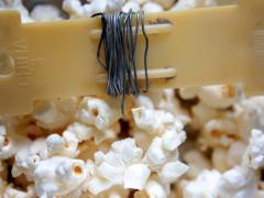 Heart-Shaped Popcorn Birdfeeder