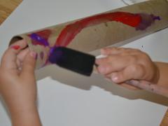 Cardboard Tube Wand