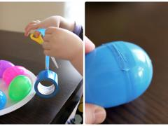 Decorative Duct Tape Easter Eggs