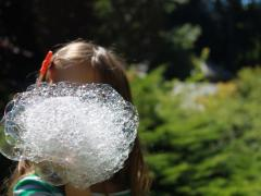 One-of-a-Kind Bubble Bottle