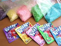 Kool-Aid Dyed Rice