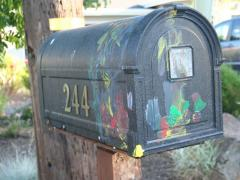 Painting the Mailbox