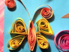 Quilled Spring Trees