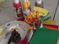 Mister Turkey Place Card