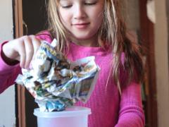 Paper Plunge Experiment