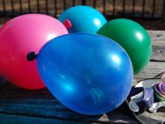 Balloons + Bouncy Balls