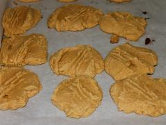 Three-Ingredient Peanut Butter Cookies