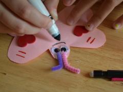 Love Bug Pencil Valentines