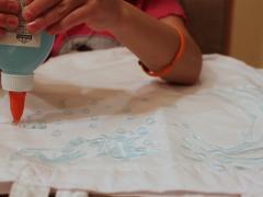 Glue Batik Canvas Bag