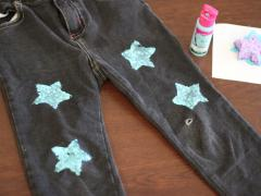 Stamped Jeans