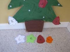 Cardboard Learning Tree