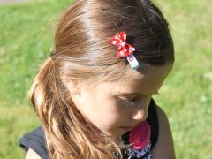 Bow Tie Pasta Hair Clip