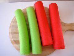 Pool Noodle Drum Sticks